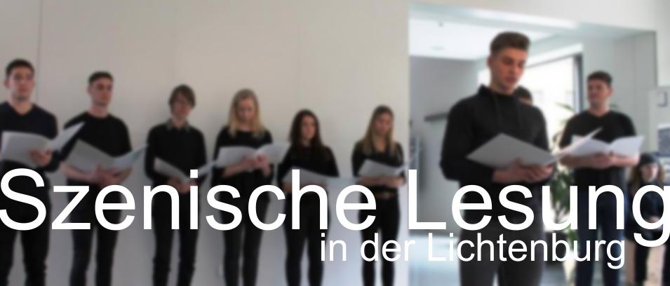 Szenische Lesung in der KZ Gedenkstätte Lichtenburg