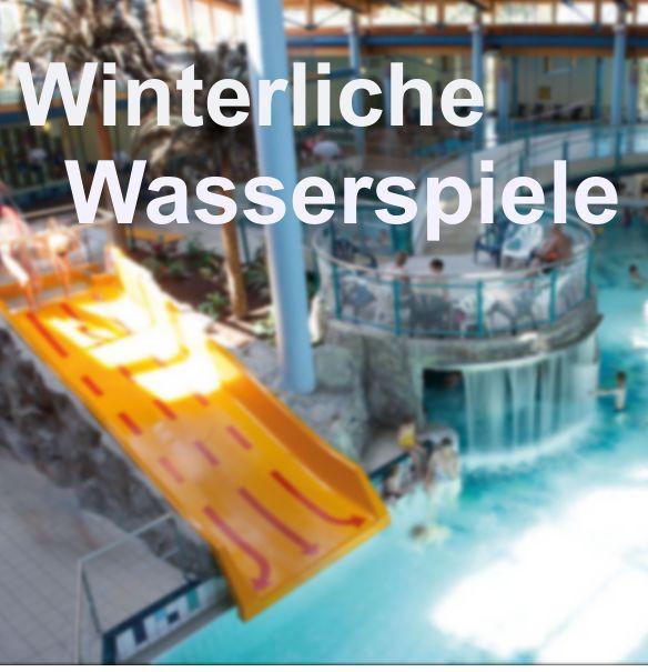 Winterliche Wasserspiele