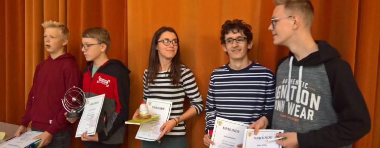Preisträger der Physikolympiade