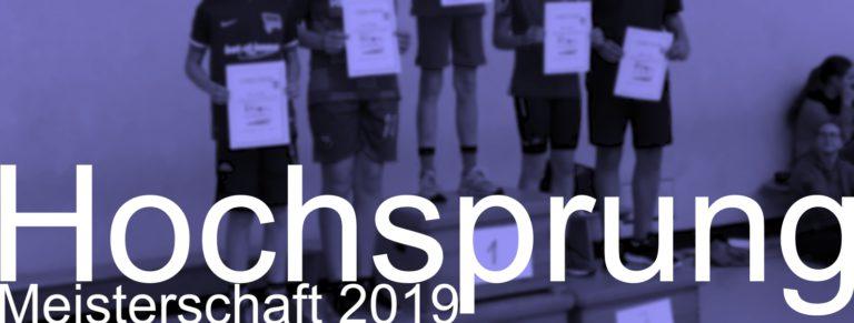 Hochsprungmeisterschaft 2019