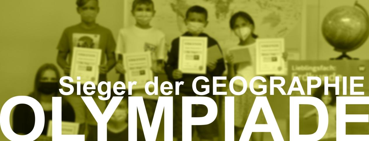 Sieger der Geographieolympiade